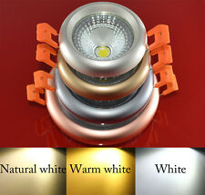 COB Recessed Ceiling Panel Down Led Lights Bulb Lamp White/Warm/Naturally white