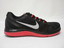 NEW NIKE DUAL FUSION RUN 3 MEN'S SHOES~13~BLACK/RED~AWESOME SHOES