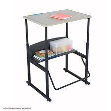 Safco Products Company AlphaBetter® Metal Adjustable Height Open Front Desk