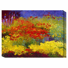 'Provincetown Poppies' by Gail Wells Painting Print on Wrapped Canvas