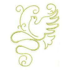 GILDED DOVES REDWORK-DESIGN 2-Anemone Machine Embroidery singles-4 sizes