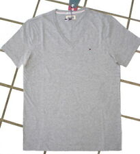 TOMMY HILFIGER MEN's CLASSIC MEN T-Shirt PANSON T-Shirt Top Quality New GREY