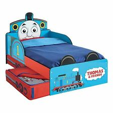 THOMAS THE TANK TODDLER JUNIOR BED WITH STORAGE + MATRESSS OPTIONS AVAILABLE