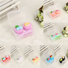 Cute Food Shape Travel Portable Contact Lens Lenses Container Case Holder Box