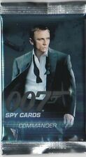 JAMES BOND 007 SPY COMMANDER TRADING CARDS :SUPER & ULTRA RARE CARDS..CHOOSE