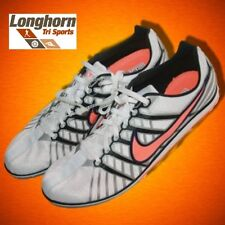 NEW Nike Zoom Rival D Track Field Spikes 13 Running Shoes White Orange 46.5