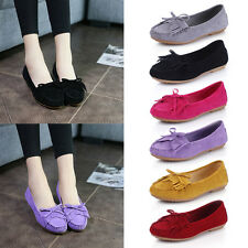 Women Tassel Flat Non-slip Peas Shoes Driving Walking Moccasin Comfort Shoes