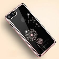 Luxury Diamond Bling Pattern Plated Hard PC Back Case Cover For Apple iPhone Y