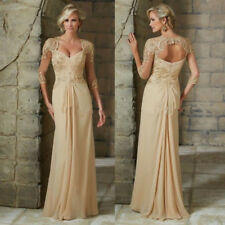 2017 Lace Beaded Mother Of The Bride Dresses Prom Women Evening Dress Custom New