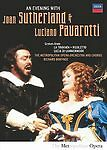 Evening With Luciano Pavarotti and Joan Sutherland DVD Region 1, NTSC