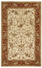 Rizzy Rugs Beige Traditional-European Scrolls Loops Area Rug Bordered VO2551