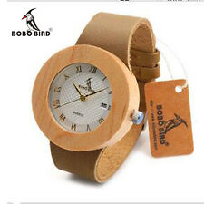 BOBO BIRD C06  2017 Round Wooden Watches Ladies' Luxury Quartz Watches