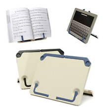 Portable Folding Book Holder Reading Desk Tablet iPad Book Documents Stand New