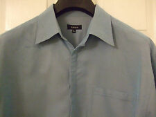 House of Fraser Linea designer blue shirt long sleeve size Large