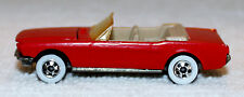 1:64 Scale 1965 Ford Mustang Convertible by Hot Wheels !