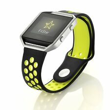 Replacement Silicone Nike Sports Bracelet Strap + Frame For Fitbit Blaze