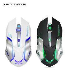 New 2.4Ghz Wireless Optical Gaming Mouse Mice& USB Receiver For PC Laptop Hot