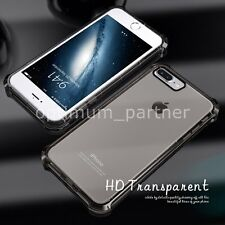 For Apple iPhone 7 7 Plus Thin Clear Transparent Rubber Silicone Gel Case Cover