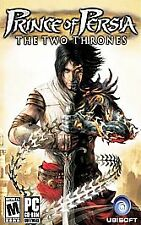 PRINCE OF PERSIA: THE TWO THRONES (Microsoft Xbox, 2005) GAME COMPLETE