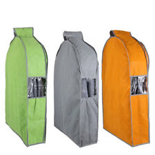 Non-woven Fabric Zippered Clothing Clothes Dress Garment Suit Storage Cover Bag