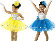 NEW 'PaperDoll' Tap Jazz Dance Baton Ice Skating Competition Costume Dress