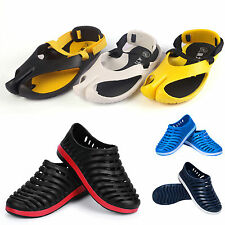 Men Summer Beach Sandal Flip Flops Flats Shoes Slip-on Rubber Breathable Slipper