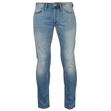 Jack and Jones Mens Liam Skinny Fit Jeans Denim Trousers Casual Pants Bottoms