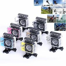 HD 1080P Sports Waterpoof Camera Action Dash Cam Helmet DV Recorder Camcorder