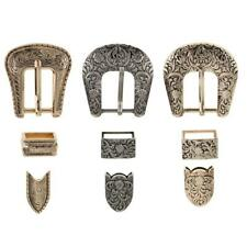3 Pieces/Set Vintage Style Chic Pin Buckles Belt Buckle Sets NEW Fashion