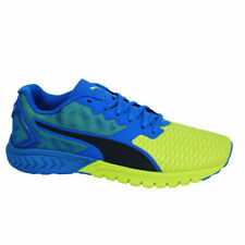Puma Ignite Dual Blue Yellow Lace Up Mens Sports Fitness Trainers 189094 02 T3