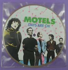 "Motels - Days Are OK,  7"" Picture Disc Single 1980"