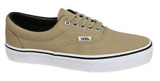 Vans Off The Wall Lace Up Beige Unisex Mens Womens Canvas Plimsolls