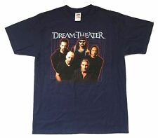 Dream Theater Band Pic Summer Vacation Tour 2003 Blue T Shirt New Official