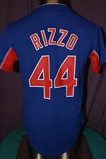 Youth MLB Majestic Chicago Cubs Anthony Rizzo Baseball Jersey New S, M, L
