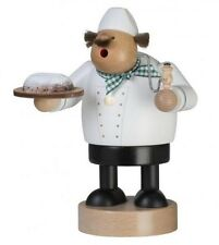 KWO Chubby Stollen Bread Baker German Wood Christmas Incense Smoker Made Germany