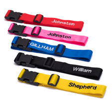 Deluxe luggage strap personalised up to 10 letters 2.0m