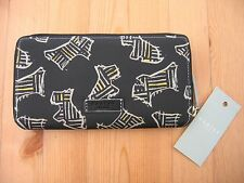 RADLEY KENWOOD LARGE MATINEE PURSE. BLACK, NEW WITH TAGS.