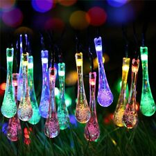30 LED Outdoor Solar Powered String Light Garden Patio Yard Landscape Lamp Decor