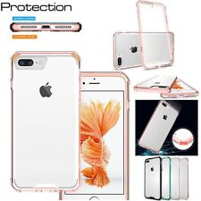 Ultra-Thin Armor Shockproof Rubber Clear Hard Case Cover For iPhone 6 6S 7 Plus