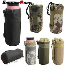 Airsoft Outdoor Tactical Molle Water Bottle Carrier Holder Hunting Hinking Pouch