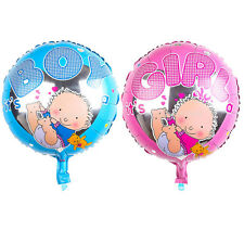 Aluminum Film Round Baby Balloon for Baby Shower Boy Girl Christening Birthday