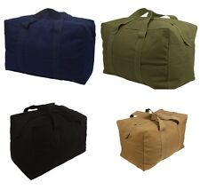 Military Style Parachute Cargo Bag, Canvas Duffle Bag