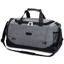 Travel Duffle Tote Bag Gym Carry On Men Women Weekend Overnight Luggage Sports