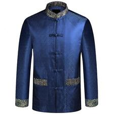 Brand Chinese Tradition Men Stand Collar Tang Suit Jacket Coat 3 Collar Sz 3XL
