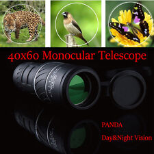 PANDA HD Vision 40x60 Optical Monocular Best Helper To Hunt the Beautiful Nature