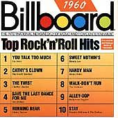 Billboard Top Rock & Roll Hits: 1960 by Various Artists (Cassette, 1988,...