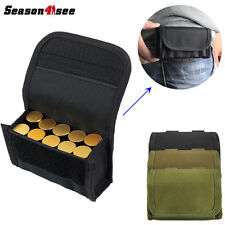 Outdoor Tactical Molle Hunting Magazine Bag Shotgun Ammo Reload Pouch Holster