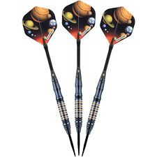 ELKADART ORBITAL BRASS BARREL STEEL-TIP DARTS-3-PACK