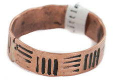 $80 Tag Handmade Authentic Navajo Native American Pure Copper Ring Size 12 1/4