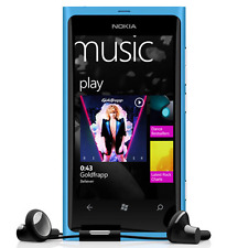 NOKIA  Lumia 800  Unlocked Smart Phone  Blue  8MP 3G  1450mAh  3.7""